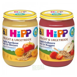Hipp Frucht & Urgetreide Gläschen