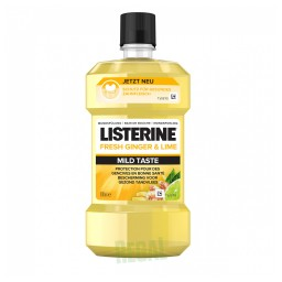 Listerine Fresh Ginger & Lime