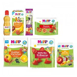 Hipp Bio für Kinder Design-Relaunch