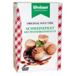 Wiesbauer Schweinefilet in Pfefferrahmsauce