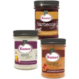 Kuner Premium Saucen im Glas